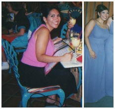 Me, about 40 pounds ago, chronically dieting and still overweight.